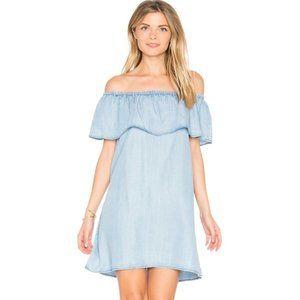BB Dakota Blue Maci Off Shoulder Tencel Dress